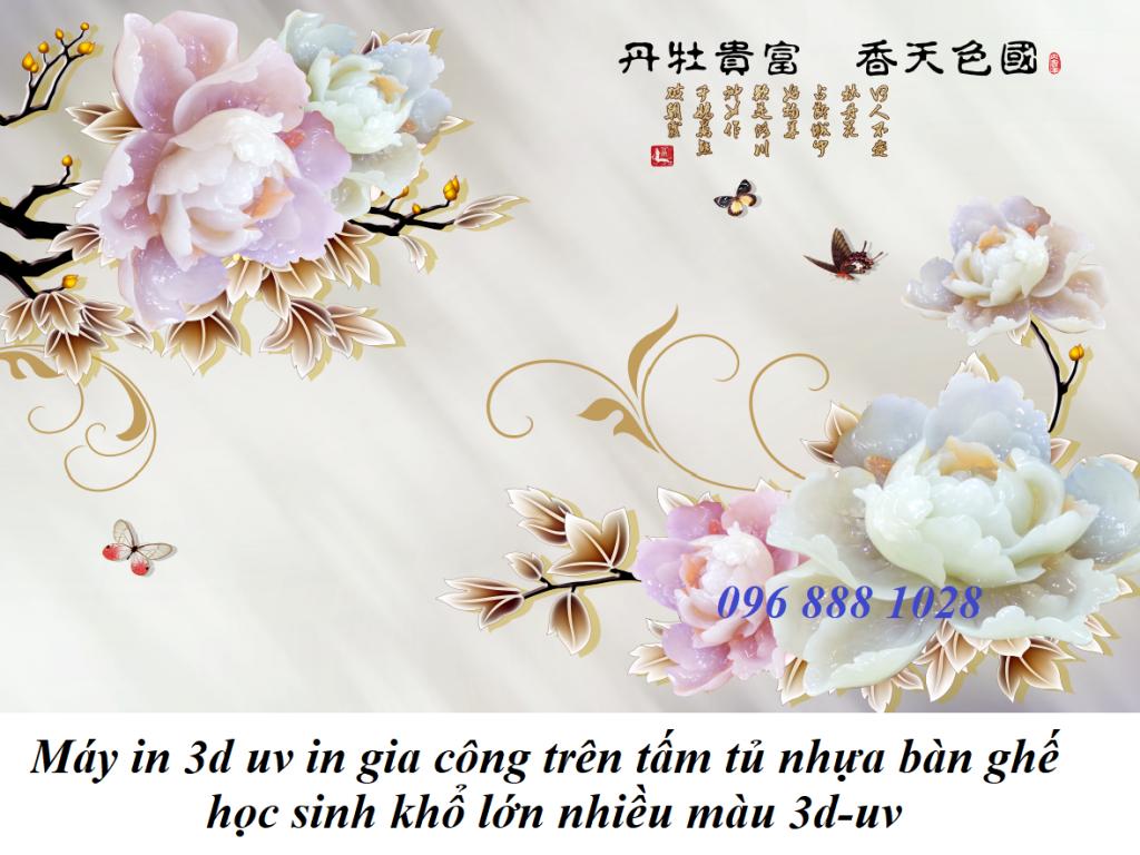may in 3d uv in gia cong tren tam nhua op tuong gia da hoa cuong formex